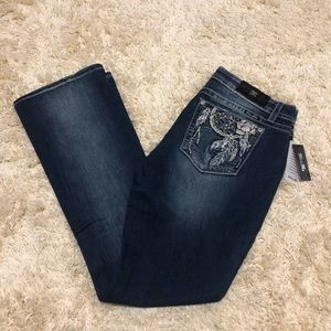 Miss me bootcut jeans size 34